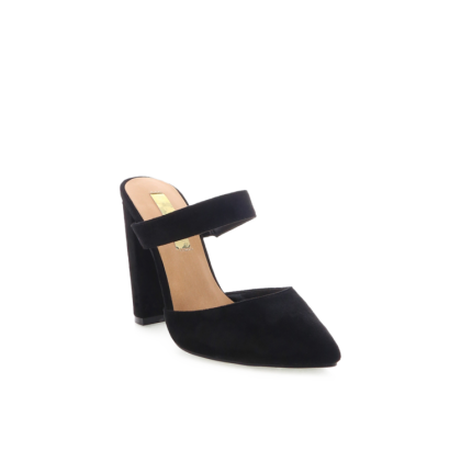Grappa - Black Suede by Billini Shoes