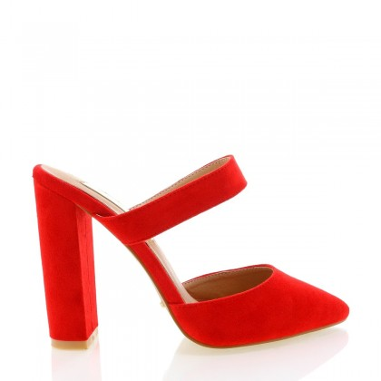 Grappa Red Suede by Billini Shoes