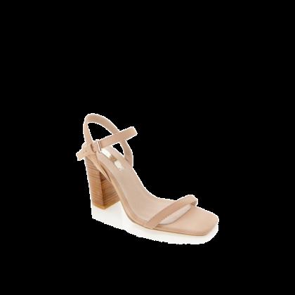 Hana - Nude Nubuck by Billini Shoes