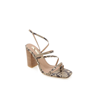 Hattie - Camel Snake by Billini Shoes