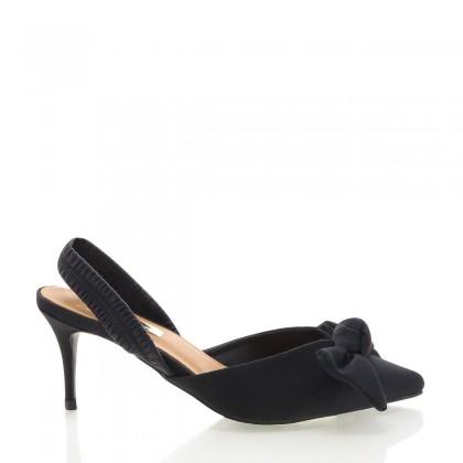 Herrera Black Grosgrain by Billini Shoes