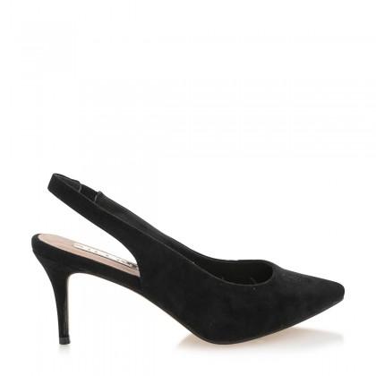 Holli Black Suede by Billini Shoes