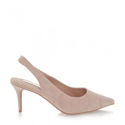 Holli Blush Suede by Billini Shoes
