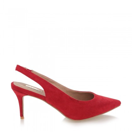 Holli Red Suede by Billini Shoes