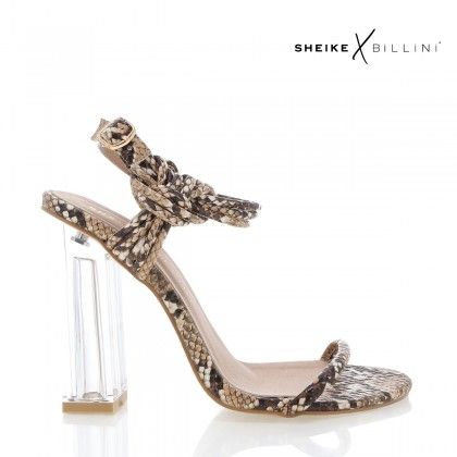Idonia Camel Snake by Billini Shoes