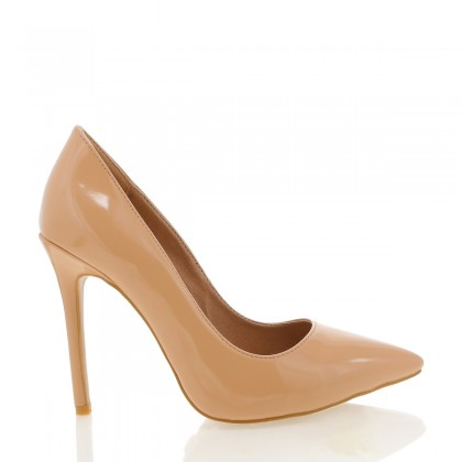 Indra Nude Patent by Billini Shoes