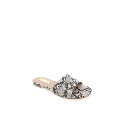 Ipanema - Cream Snake by Billini Shoes