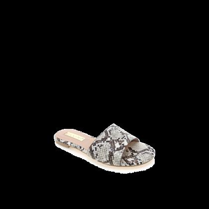 Ipanema - Cream Snake by Billini Shoes