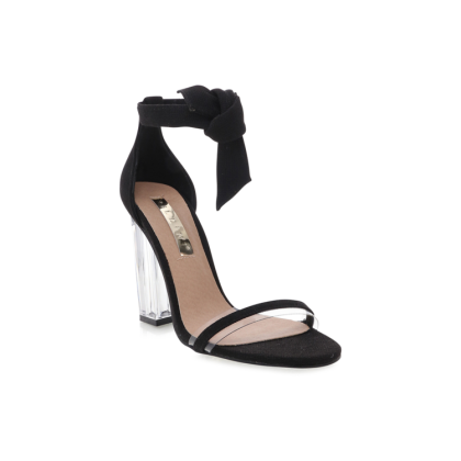 Isca - Black Linen by Billini Shoes
