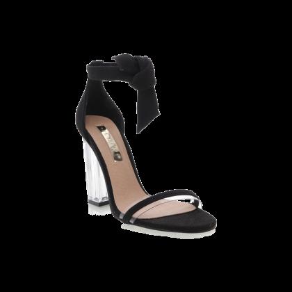 Isca - Black Linen by Billini Shoes