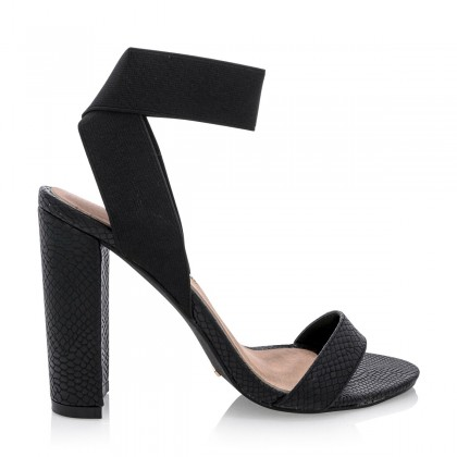 Jana Black Snake by Billini Shoes