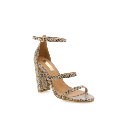 Jatari - Beige Reptile by Billini Shoes