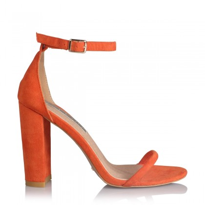 Jena Orange Suede by Billini Shoes