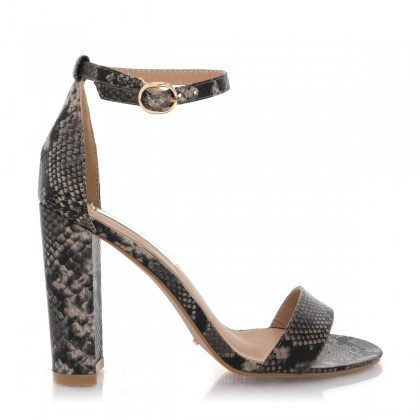 Jessa Natural Snake by Billini Shoes