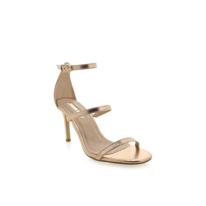 Joie - Rose Gold Metallic by Billini Shoes