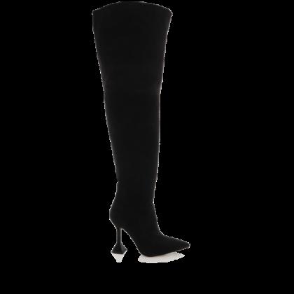 Jolene - Black Suede by Billini Shoes
