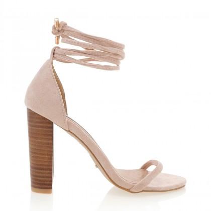 Jura Blush Suede by Billini Shoes