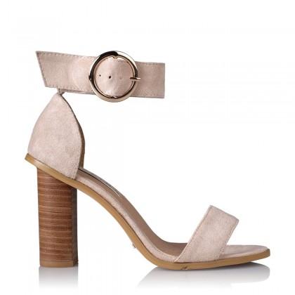 Kamari Blush Suede by Billini Shoes