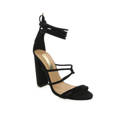Laela - Black Suede by Billini Shoes