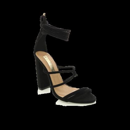 Laela - Black Suede by Billini Shoes