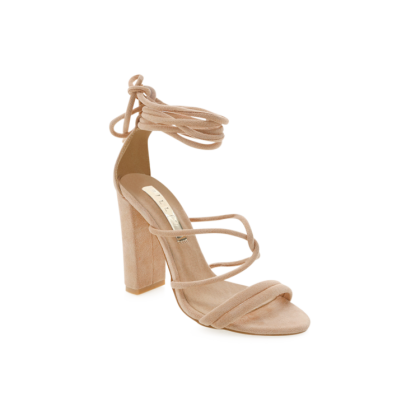 Laela - Blush Suede by Billini Shoes