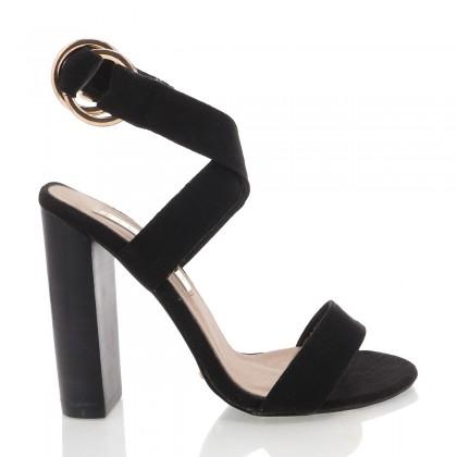 Laguna Black Linen by Billini Shoes