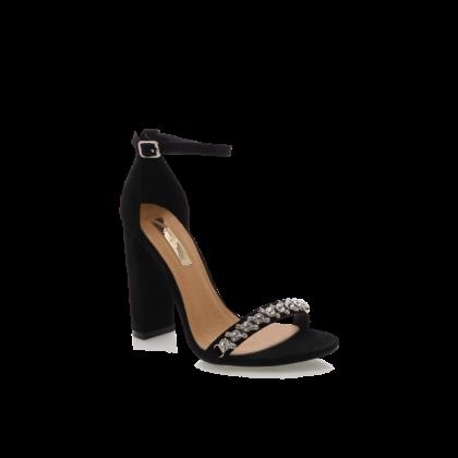 Laine - Black Suede by Billini Shoes