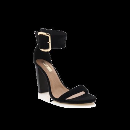Lamba - Black Linen by Billini Shoes