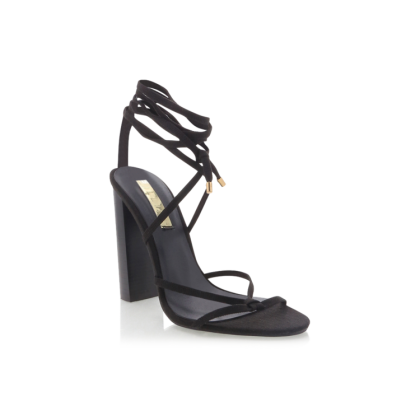 Lana - Black Linen by Billini Shoes