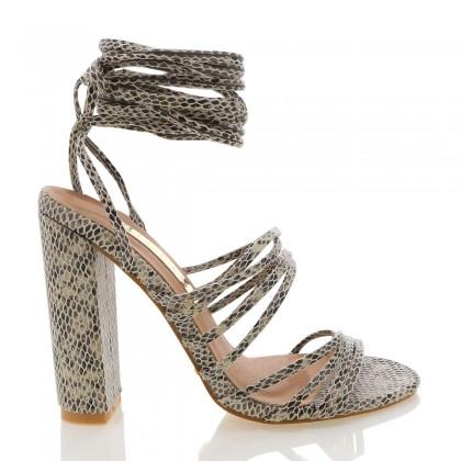 Laredo Beige Reptile by Billini Shoes