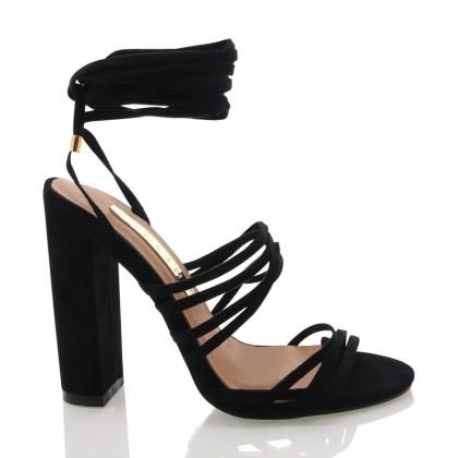 Laredo Black Suede by Billini Shoes
