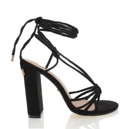 Lazio Black Suede by Billini Shoes
