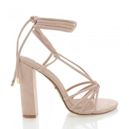 Lazio Blush Suede by Billini Shoes