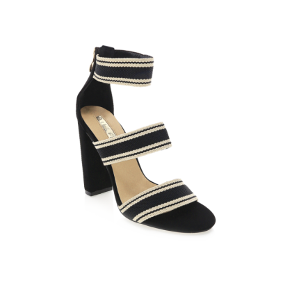 Leros - Black Stripe by Billini Shoes