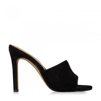 Lidia Black Suede by Billini Shoes