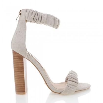 Linares Beige Linen by Billini Shoes