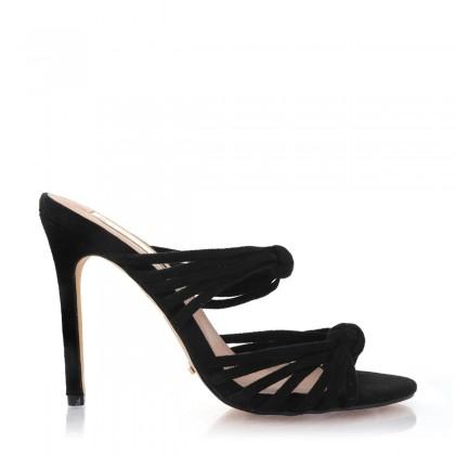Lumio Black Suede by Billini Shoes