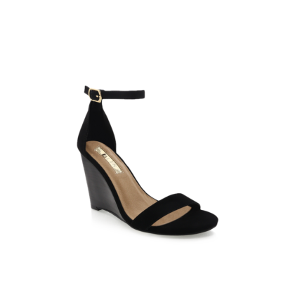 Magnolia - Black Nubuck by Billini Shoes