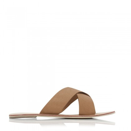 Majorca Tan Pebble by Billini Shoes
