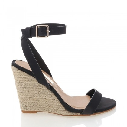 Marciana Black Nubuck by Billini Shoes