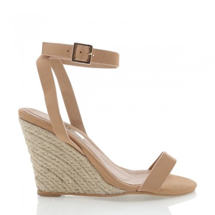 Marciana Nude Nubuck by Billini Shoes