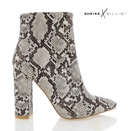 Maricia Cream Snake by Billini Shoes