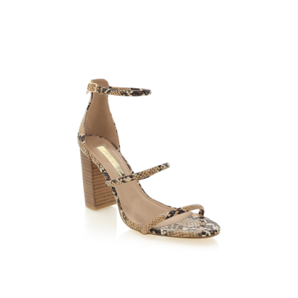 Marlie - Camel Snake/Natural by Billini Shoes