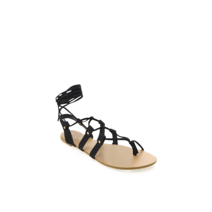 Matia - Black Nubuck by Billini Shoes