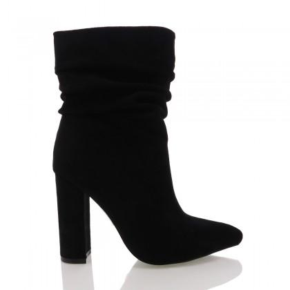 Monte Black Suede by Billini Shoes