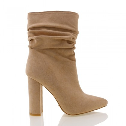 Monte Light Stone Suede by Billini Shoes