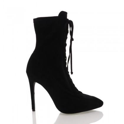 Narita Black Suede by Billini Shoes