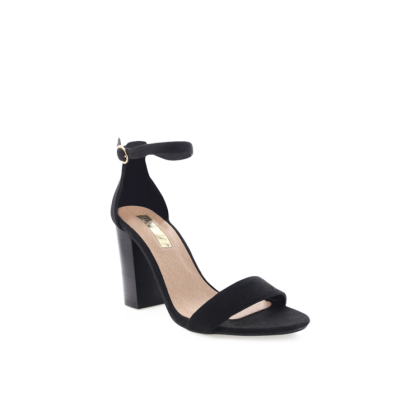 Narva - Black Linen/Black by Billini Shoes