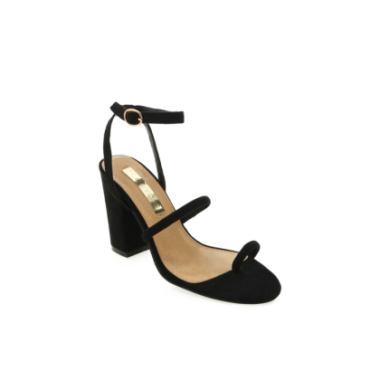 Natari - Black Suede by Billini Shoes
