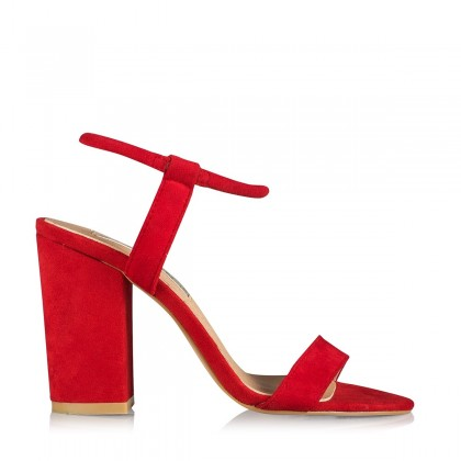 Navina Red Suede by Billini Shoes